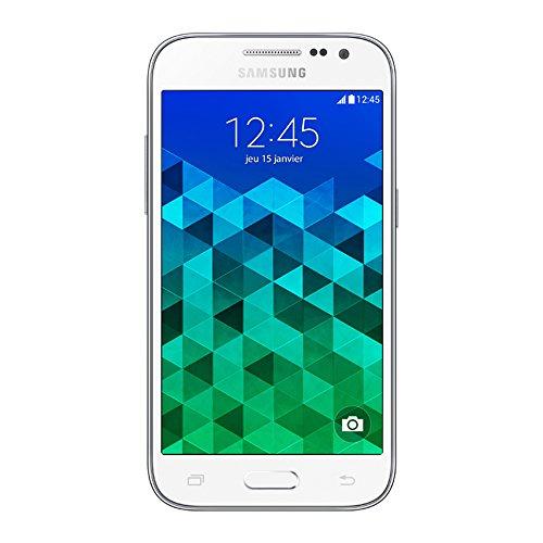 Samsung Galaxy Core Prime Smartphone débloqué 4G (Ecran: 4,5 pouces   8 Go   Simple SIM   Android 4.4 KitKat) Blanc