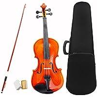 Violine Geige ammoon Violine Geige Basswood Stahl String Arbor Bug Saiteninstrument musikalische Spielzeug für Kinder-Anfänger