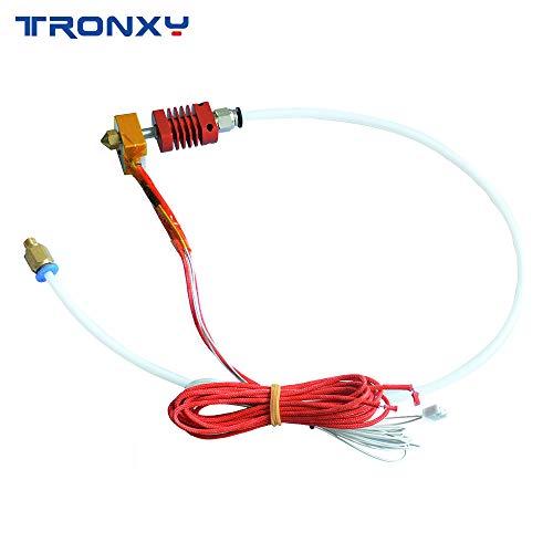 Tronxy Original MK8 Kit Host pour imprimante 3D XY-2 avec bloc chauffant en  aluminium 1,75 mm Buse 0,4 mm