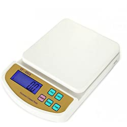 Asier Advanced Electronic Kitchen Digital Weighing Scale Upto 10Kg With Support for AC Adaptor and Counting feature