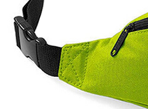 DATO Unisex Gürteltasche Klein Wasserdicht Sport Multifunktions Nylon Bauchtasche Tasche Hüfttasche Joggen Sport Gürtel Hip Pack BagBase Hellgrün