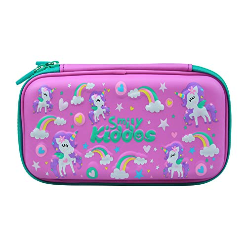 Smily Kiddos Small Pencil Case (Purple ) Kids School Supplies for Best Birthday / Return Gifts