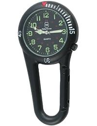Philip Mercier NW15/A - Reloj de bolsillo analógico unisex, color negro