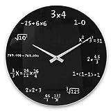 OOTB Reloj de Pared, Negro, estándar