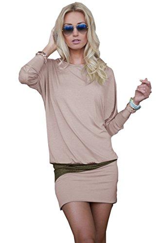 Verführerische Outfits - Mississhop 95-31 Damen Minikleid festlich Glitzer