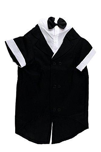 Midlee Formale Hund Tuxedo Kostüm (Schwarz, - Schwanz Tuxedo Kostüm