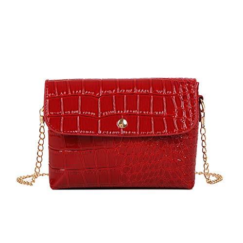 Produp Mode Frauen Tasche Steinmuster Umhängetasche Umhängetasche Einfache Kleine Quadratische Tasche