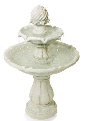 Fontaine solaire « L'Impériale » H92cm