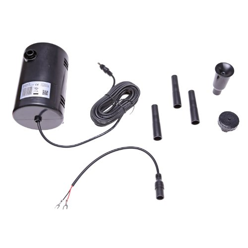 CLGarden Pumpe SP4 12V DC für Solarpanel Akku Batterie Netzstecker 12 V Wasserpumpe Solarpumpe Wasser