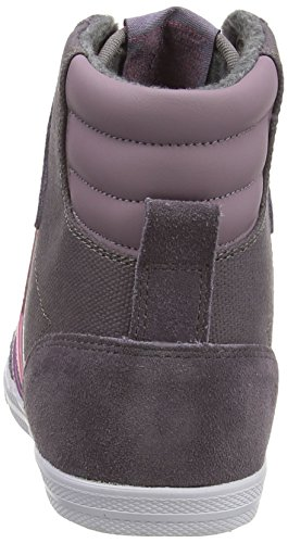 hummel SSTADIL WAXED CANVAS Unisex-Erwachsene Hohe Sneakers Mehrfarbig (Shark 2301)