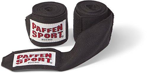 Paffen Sport Boxbandagen unelastisch; 3,0 m; schwarz