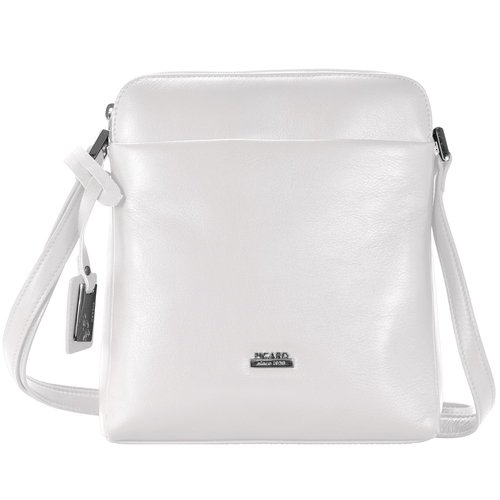 Picard Really Sac bandoulière cuir 19 cm weiss