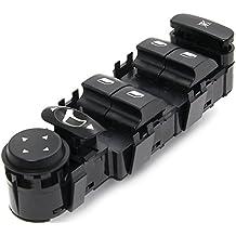 Lucklystar® 6554.HA Master Ventana Interruptor Consola para Coches Elevalunas para Citroen C4 2004-2010 6554 HA