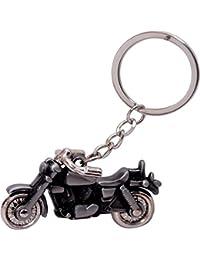 Royal Enfield Bullet Bike Premium Quality Metalic Key Chain(Grey)