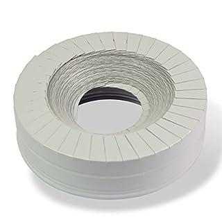 PU-R Rohrisolierung Lamellenband 23x25 mm 10m Abschlussband Lamellenabschlussband Rohrdämmung Rohrisolation Heizung