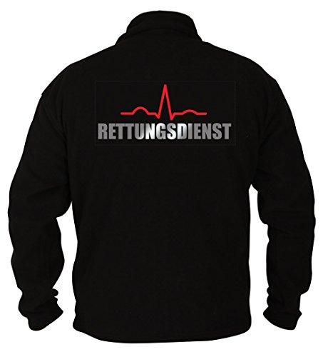 Rescue Point Rettungsdienst Herren Fleece Sweatshirt PRETTER1 (M)