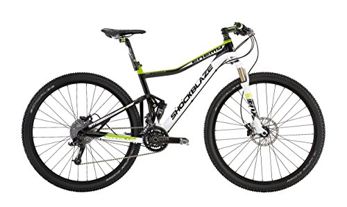 "Shockblaze BK12SB0820 Enemy Elite 29"" Mountain Bike, Bianco"