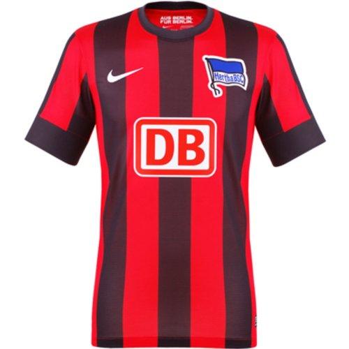 Nike Herren Trikot Hertha Bsc Home Away Replica, challenge red/black/football white, L, 479853-603