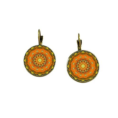 UINGKID Damen Ohrringe Mode Ohrstecker Vintage Kreative Europäische und Amerikanische Wild Ladies Jewelry -