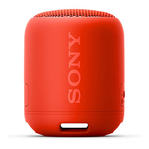 Sony SRS-XB12 Extra Bass Portable Waterproof Wireless Speaker (Red)