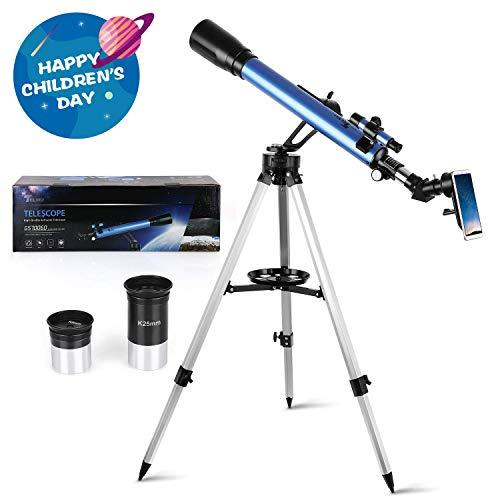 JHSHENGSHI Telescopios para Niños