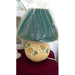 Lámpara de cerámica línea de margarita