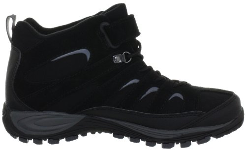 Merrell CHAM 4 MID TREK WTPF J95407 Unisex-Kinder Trekking & Wanderschuhe Schwarz (Black)