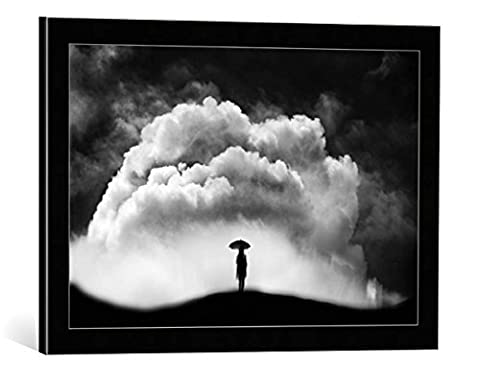 "Image encadrée: FRANCISCO SANCHEZ FOTOGRAFIAS ""bajo el paraguas"" - impression d"