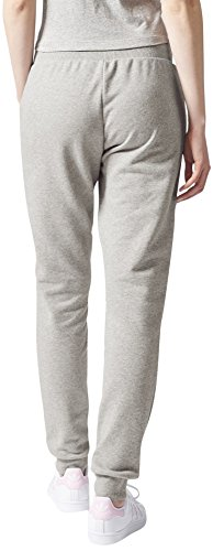 adidas Damen Regular Cuffed Track Hose Medium Grey Heather