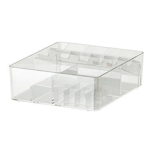 Ikea 601.774.73Godmorgon accessoire de meuble de rangement, boîte avec compartiments