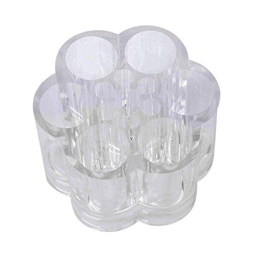 Pixnor Organisateur de cristal stockage de grande capacité cosmétiques acrylique Transparent