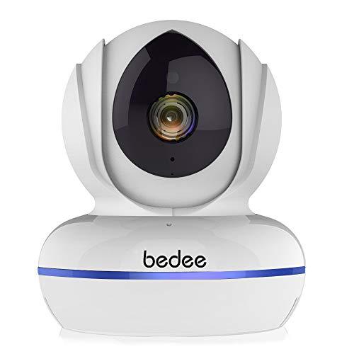 bedee WLAN IP Kamera, Ultra HD 4MP ÜberwachungsKamera Smart Home WiFi Sicherheitskamera mit Zwei-Wege-Audio, Nachtsicht, Bewegungserkennung, Dual Band 2.4GHz/5GHz Fernalarm für Haustier/Baby Monitor