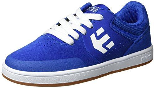 Etnies Unisex Kinder Kids Marana Skateboardschuhe, Blau (Blue/White/Gum), 37.5 EU (4 UK) (Mädchen Etnies Schuhe Kids)