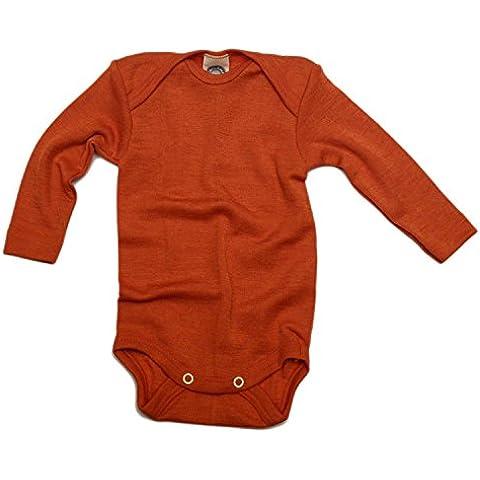Cosi lana de Body para bebés, WOLL Body de 70% Lana de KBT 30% Seda