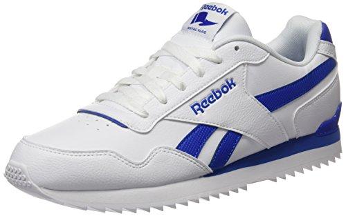 Reebok Herren ROYAL Glide Fitnessschuhe, Weiß (White/Vital Blue 000), 42.5 EU