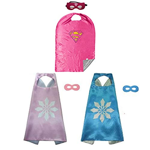 BJ-SHOP Superhelden Umhang Maske, Superhelden Kostüm Kinder die -