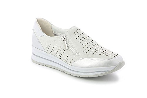 GRÜNLAND Cedo, Sneaker Infilare Donna Bianco