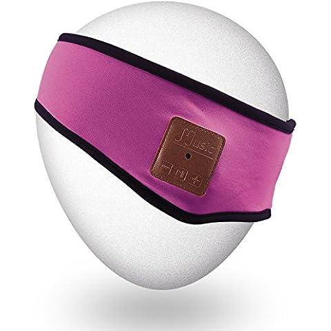 Qshell Trendy souple Bluetooth Bandeau avec casque