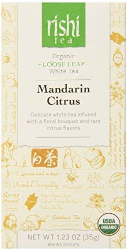 Rishi Tea Mandarin Citrus, 1.23 Ounce