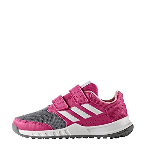 Chaussures junior adidas FortaGym rose bonbon