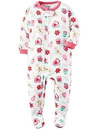 Carters - Pijama de una pieza - para niña blanco Weiß