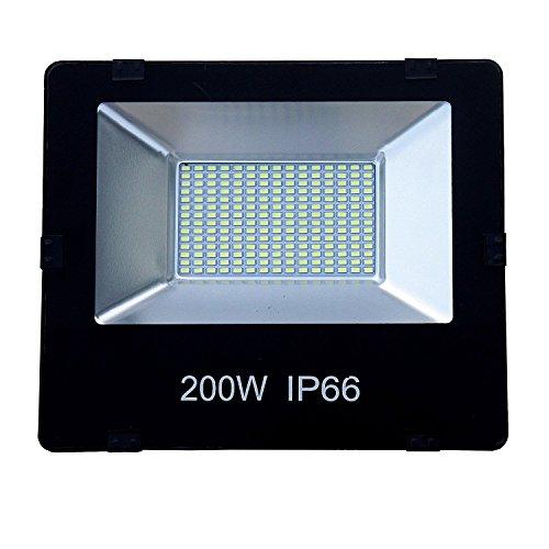 200w led Outdoor Light Waterproof (Flood Light) (Single) LED Bulbs at amazon