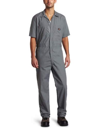 Sleeve Coverall, Gray, X-Large Short ()
