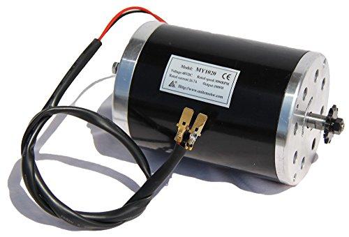 Elektromotor, Antriebsmotor 1000 Watt 48V Ersatzteil für Elektro Scooter SXT (1000 Watt Scooter Motor)