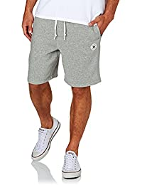 Converse Homme Core Logo Marled Sweat Shorts, Gris