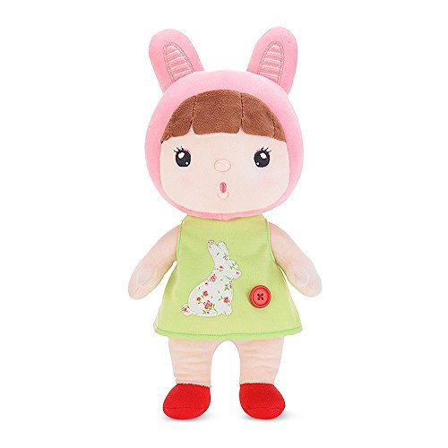 belk-dollhouse-soft-stuffed-soothe-toy-in-fancy-costume-12-huggable-size-cradle-sleep-comfort-bunny-