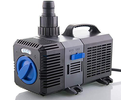 Filterpumpe bis 4500l/h Energiespar Eco- Teichpumpe Pumpe Bachlaufpumpe Koiteich