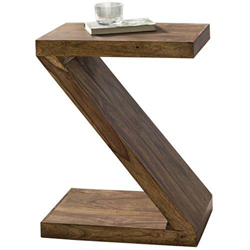 Wohnling, tavolino d'appoggio in legno massello, Beige, usato usato  Spedito ovunque in Italia