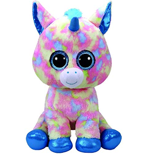"Beanie Boo Unicorn - Blitz - Multicoloured - 42cm 16"""
