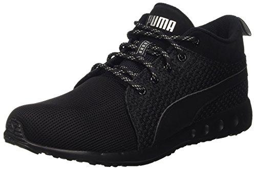 Puma Carson Runner Mid Eea, Scarpe da Corsa Unisex – Adulto Nero (Schwarz (puma black-puma silver 01))